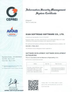 ISO/IEC 27001:2013